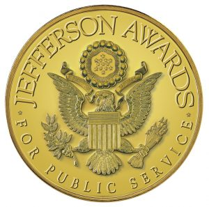 Jefferson Awards for Public Service badge