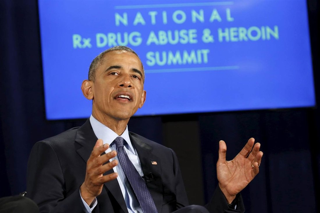 president obama speaking at national rx drug abuse and heroin summit