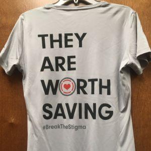 They are worth saving running t shirt