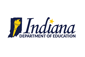 Indiana DOE logo