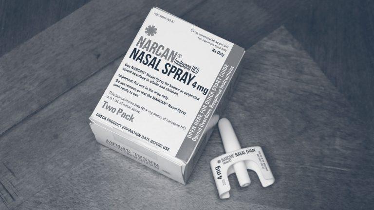 narcan® nasal spray naloxone box